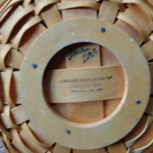 Longaberger Accents - Longaberger Pumpkin Patch Basket